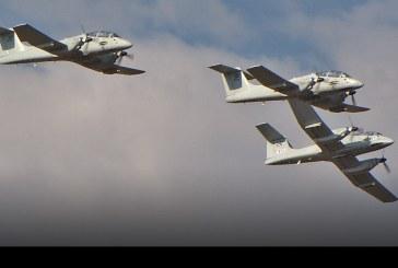 Fuerza Aérea Argentina retiró del servicio los venerables IA-58 Pucará