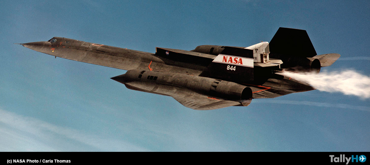 20 años del último vuelo del notable SR-71 Blackbird