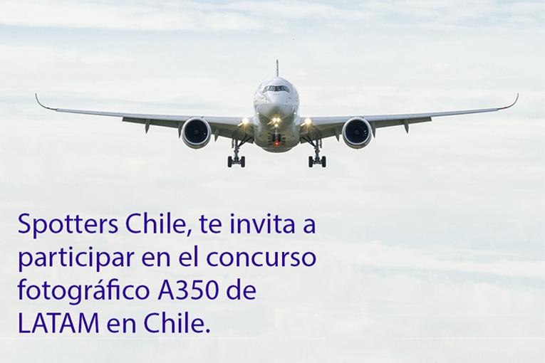 Spotters Chile organiza concurso para fanáticos de la aviación