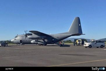 Fuerza Aérea de Chile realizó exitosa evacuación aeromédida de menor de edad