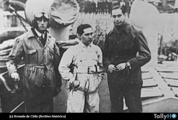 95 años del primer salto en paracaídas sobre el mar en Chile