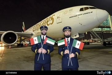 Emirates aterriza en Ciudad de México