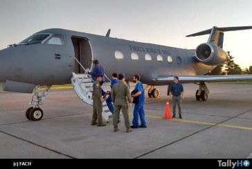 Exitoso traslado de órganos a Santiago realizó la Fuerza Aérea