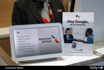 American Airlines es la primera aerolínea en poner a prueba el modo intérprete de Google Assistant
