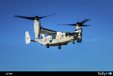 Bell Boeing CMV-22B Osprey realizó su primer vuelo