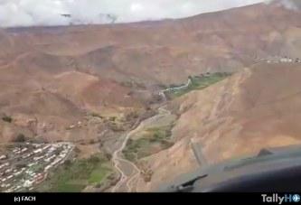 Operaciones FACH por Invierno Altiplánico en zona norte