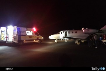 Fuerza Aérea realiza exitoso traslado de dos riñones y un hígado desde Valdivia a Santiago