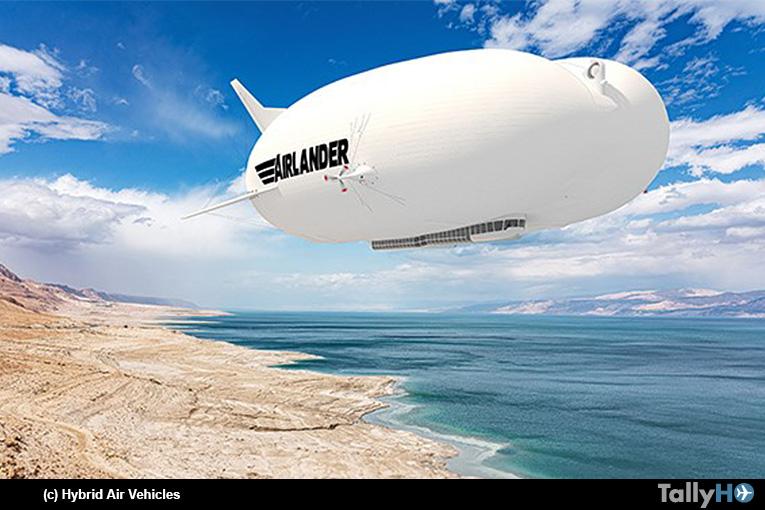 HAV presenta versión del Airlander 10 de producción