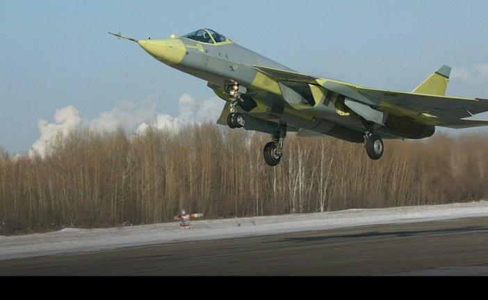 Avión ruso de quinta generación SU-57 cumplió 10 años desde su primer vuelo