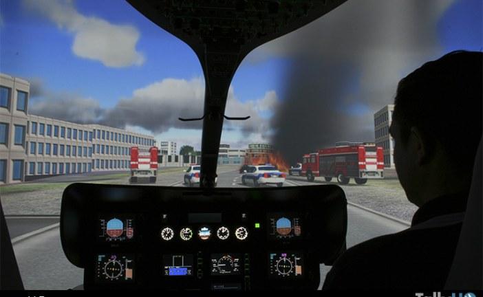 Pilotos de helicópteros se capacitan con tecnología de última generación para combatir Incendios Forestales