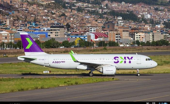 SKY se posiciona como la aerolínea low cost más puntual de Latinoamérica