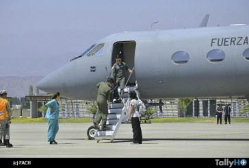 Fuerza Aérea de Chile realizó exitoso traslado de corazón desde Temuco a Santiago