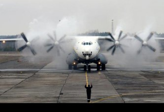55 Aniversario del primer vuelo del gigantesco Antonov AN-22 Antei