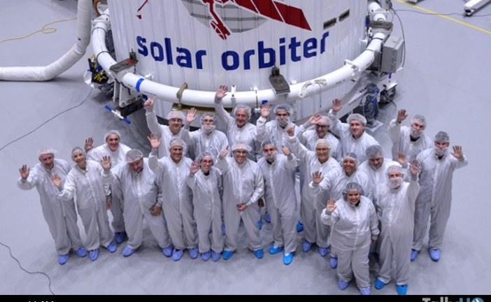 Solar Orbiter está preparado para su encuentro con el Sol