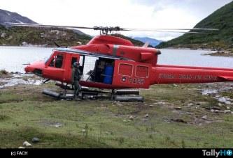 Fach rescata a excursionista en sector Laguna El Salto en Magallanes