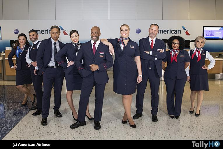 American Airlines estrena uniformes nuevos para más de 50.000 miembros de su equipo