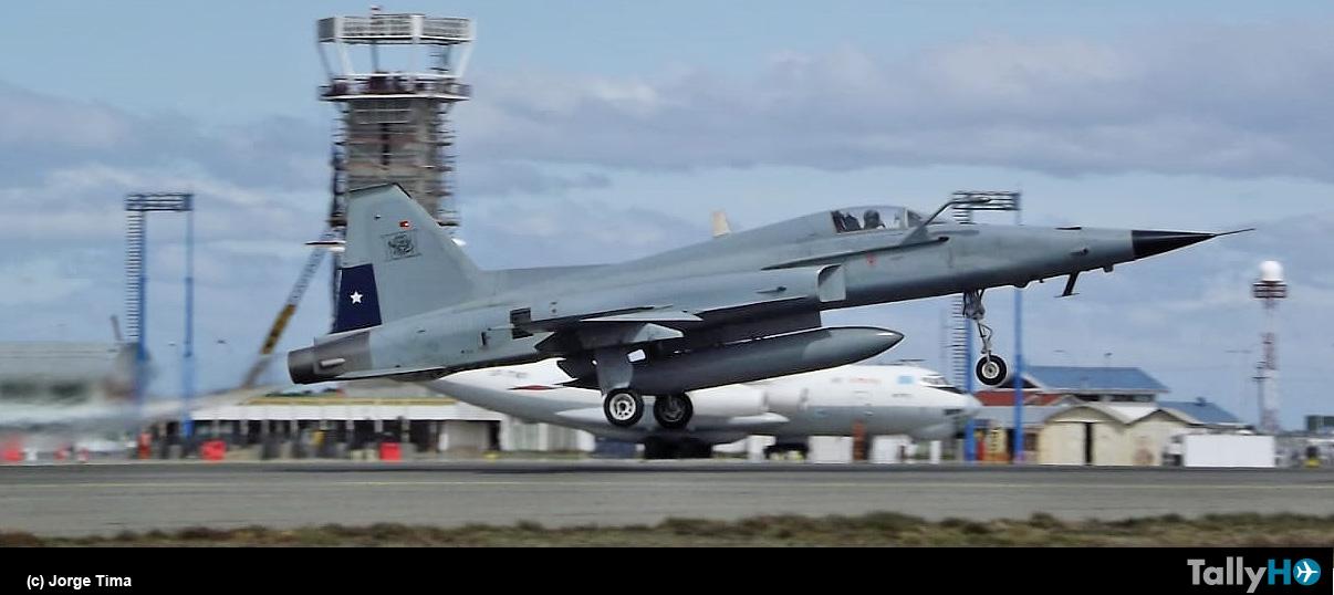 10 años de la llegada de los F-5E Tigre III a Punta Arenas