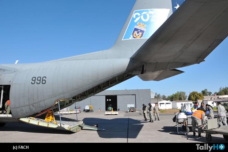 Fuerza Aérea realiza evacuación aeromédica desde Rapa Nui
