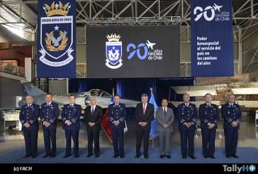 Fuerza Aérea de Chile realiza lanzamiento del «Mes del Aire»