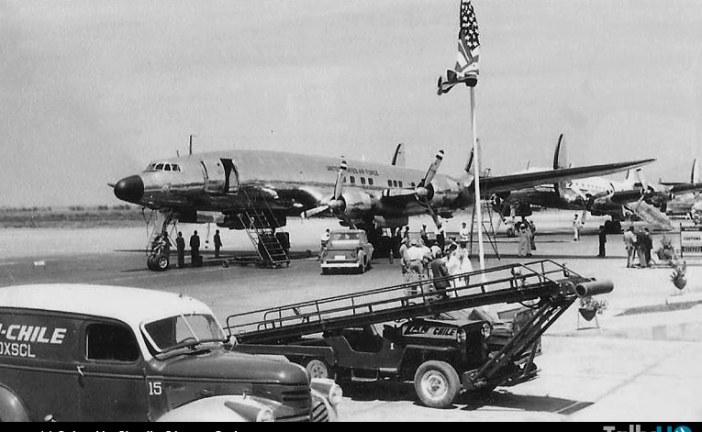 60 años de la primera visita del «Air Force One» a Chile