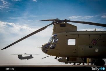 Boeing entregó primer Chinook a la Real Fuerza Aérea de los Países Bajos