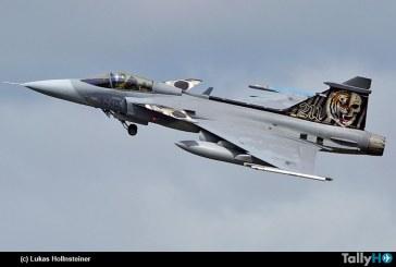 Saab Gripen cumplió 15 años en servicio con la Fuerza Aérea de República Checa