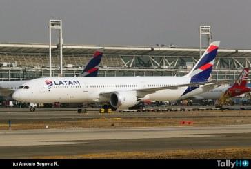 LATAM aumenta operación doméstica en filiales y tres nuevos destinos internacionales para septiembre