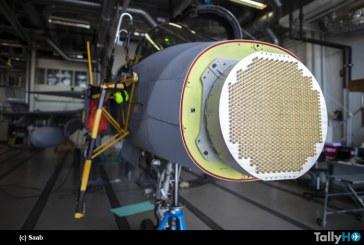 Saab completa primeras pruebas para nuevo radar AESA para cazas