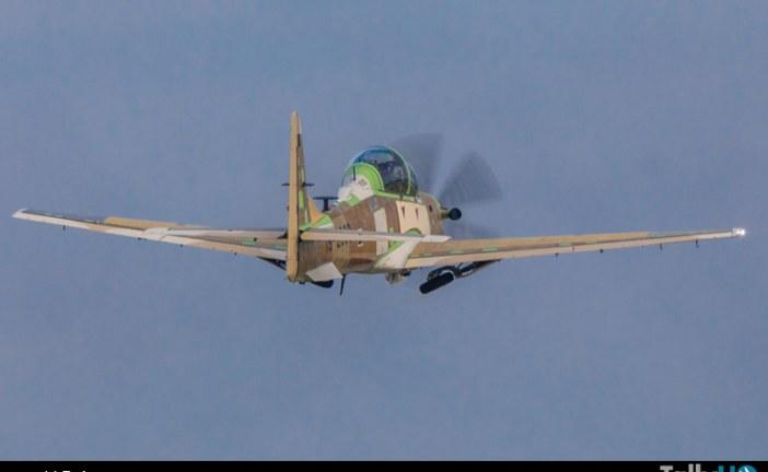 Primer Super Tucano para  Nigeria completa con éxito vuelo inaugural
