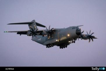 A400M para las Fuerzas Armadas de Luxemburgo realiza su primer vuelo