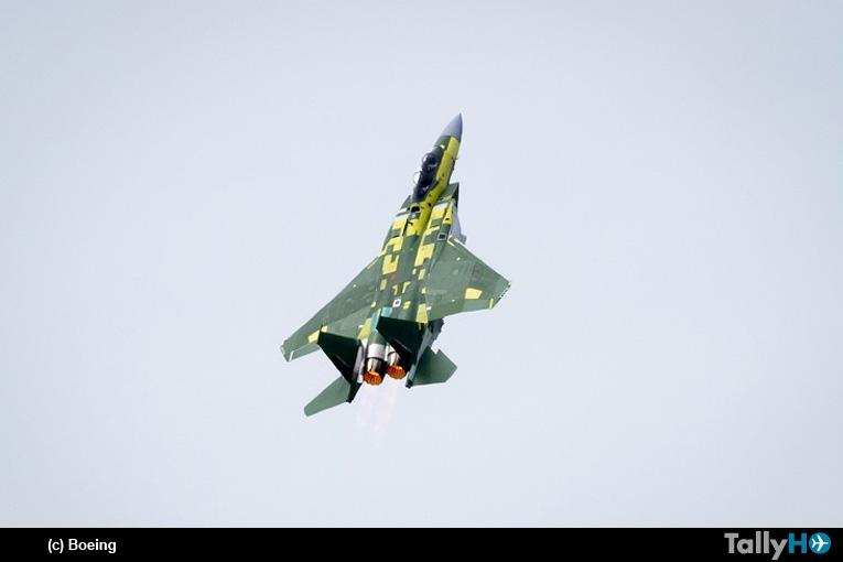 El Boeing F-15 Qatar Advanced realizó exitosamente su primer vuelo