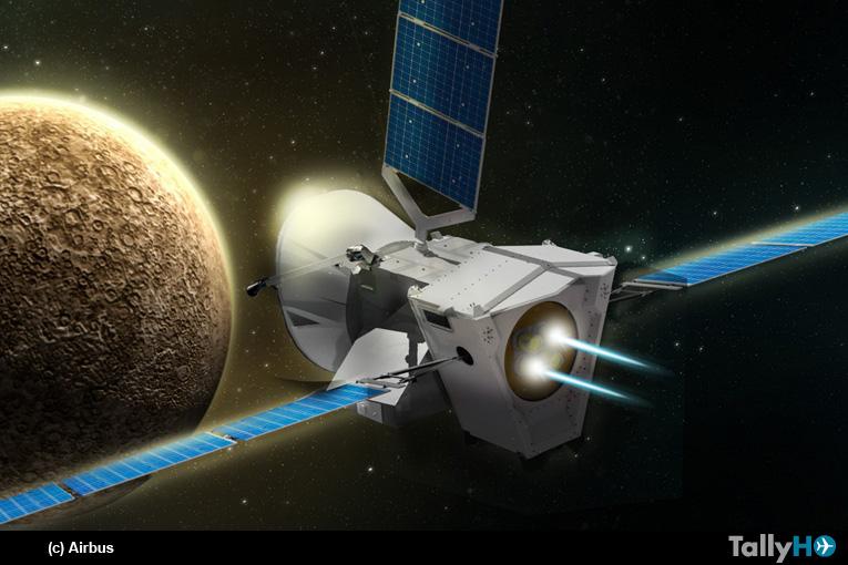 La sonda BepiColombo se despide de la Tierra y emprenderá viaje a Mercurio