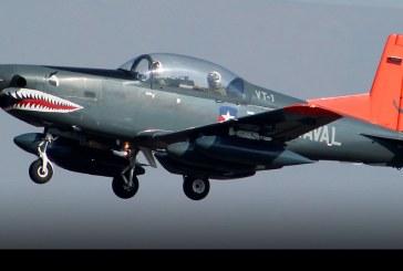 A 40 años de la llegada de los Pilatus PC-7 a la Aviación Naval de Chile