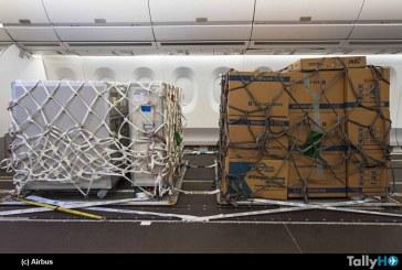 Airbus desarrolla solución  para aviones de pasajeros se conviertan en cargueros