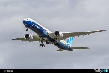 Segundo prototipo del Boeing 777 X realizó su primer vuelo