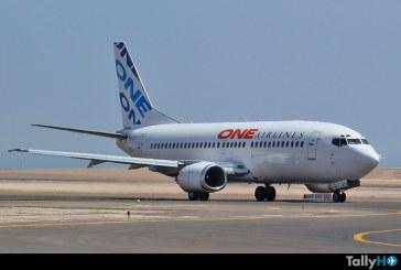 La compañía One Airlines de Chile anunció su cierre de operaciones