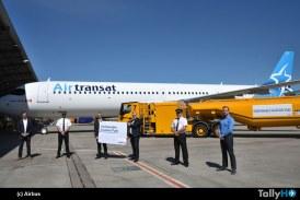 Airbus inicia entregas en Hamburgo con combustible de aviación sostenible