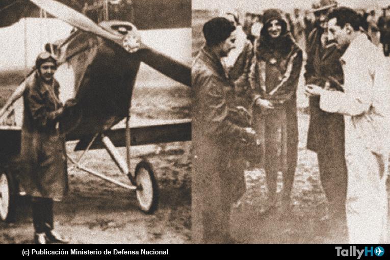 Graciela Cooper y el día nacional de la Mujer Piloto