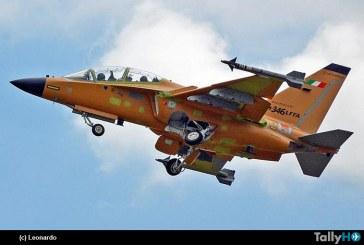 M-346 FA de Leonardo realizó vuelo inaugural equipado con radar Grifo