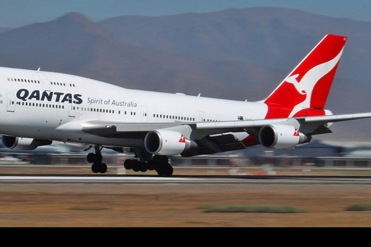 Qantas realizará vuelos de despedida para sus aviones Boeing 747