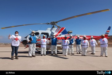 Airbus Foundation, Cruz Roja de Chile, Servicios Aereos Kipreos y Servicios Aereos SumaAir apoyan la lucha contra el COVID-19 en Chile