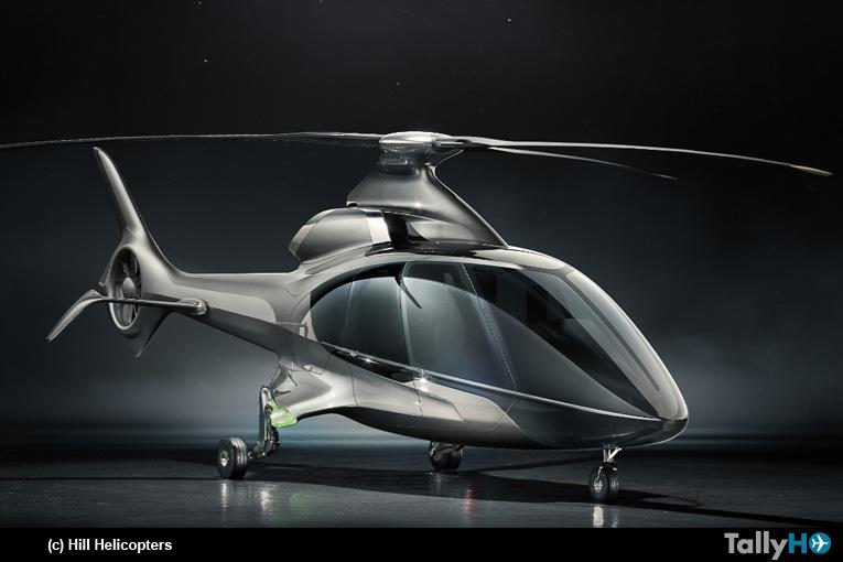 El rupturista proyecto de Hill Helicopters denominado HX50