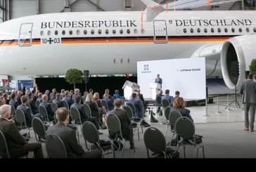 Gobierno Federal Alemán recibió primer Airbus ACJ350 para uso gubernamental