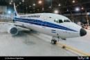 Aerolíneas Argentinas presentó avión con esquema retro por su 70 aniversario
