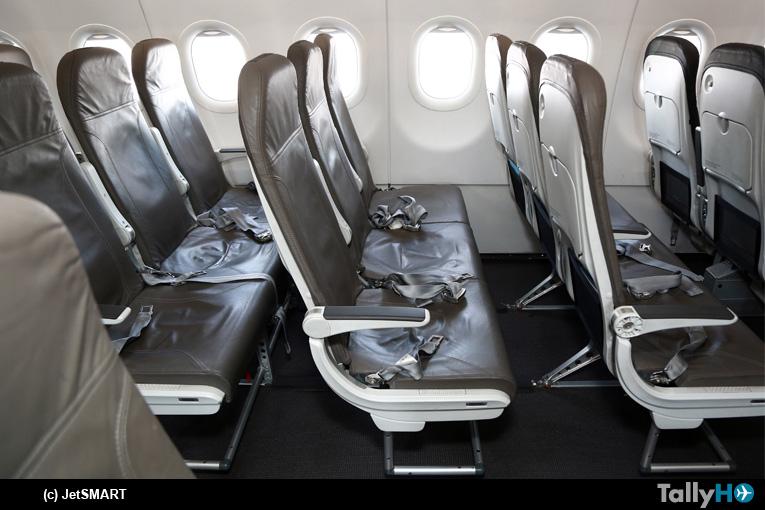 JetSMART cierra convenio con Recaro Aircraft Seating por más de 11.000 asientos de clase económica