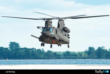 Boeing entrega primer Chinook Next-Gen al US Special Operation Command