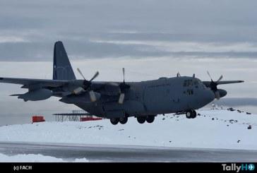 Medios de la FACH trasladaron desde la Antártica a ciudadano polaco fallecido hasta Punta Arenas