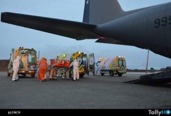 Fach realiza vital traslado de pacientes COVID19 desde Punta Arenas a Santiago
