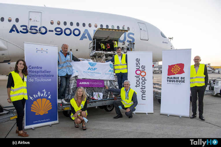 La Fundación Airbus y sus socios entregan ayuda humanitaria a Beirut