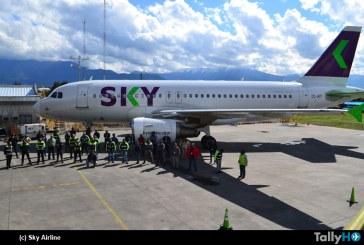 SKY primera aerolínea low cost de América con flota 100% amigable con el medio ambiente